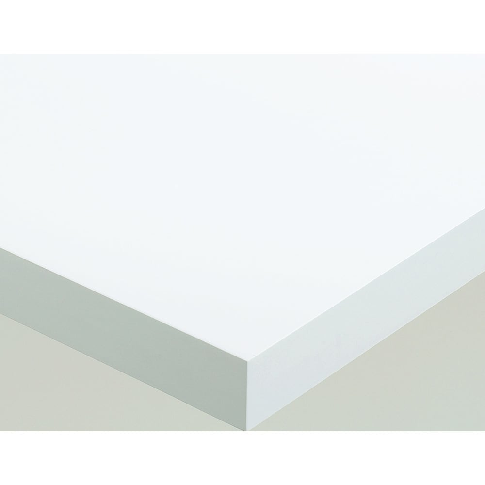 Pombal/ポンバル シェルフ 3連セット 高さ224cm 素材アップ ホワイト 下地のMDFを丁寧に加工し、ラッカー塗装で仕上げています。塗装仕上げなので、プリント紙貼りの家具に見られるような継ぎ目は見えません。