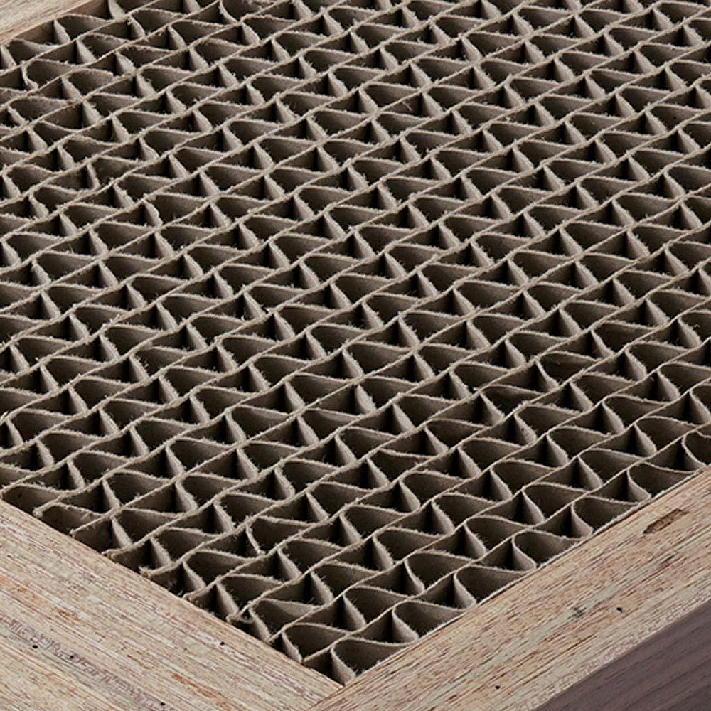 Pombal/ポンバル シェルフ 5連セット 高さ187cm 棚板など部材の内部はハニカム構造で強度を高めています。