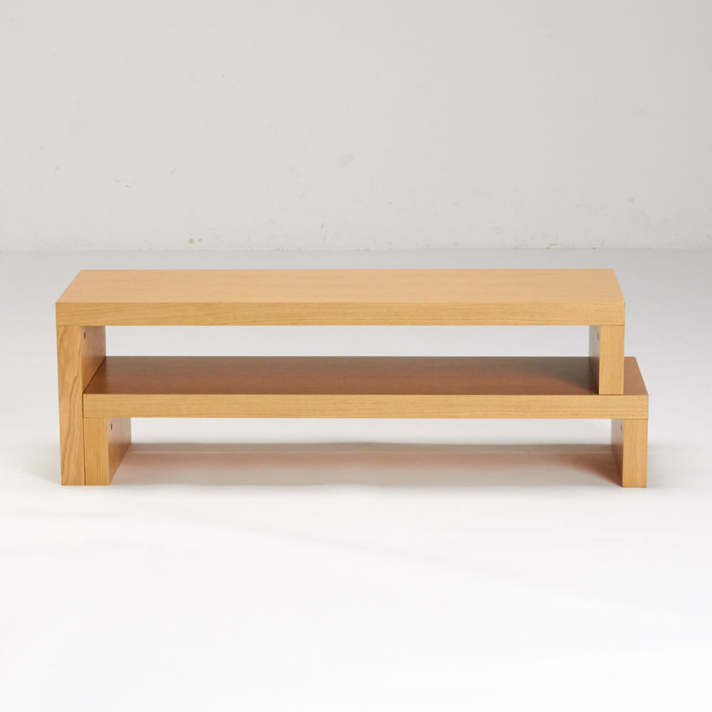 HS Cliff/エイチエスクリフ 伸縮式テレビ台テーブル 幅120cm[temahome テマホーム]