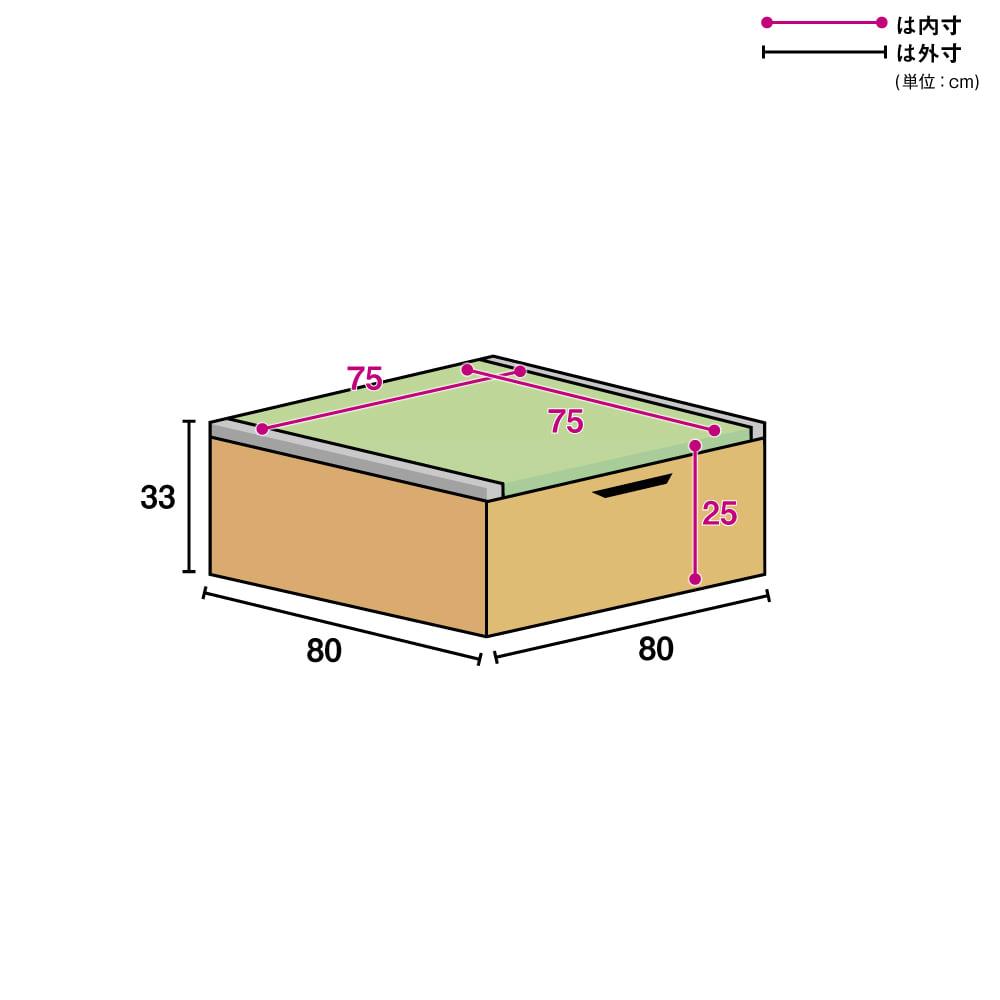 美草跳ね上げ式ユニット畳 畳単品 高さ33cm 半畳