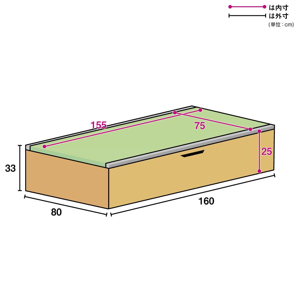 美草跳ね上げ式ユニット畳 畳単品 高さ33cm 1畳