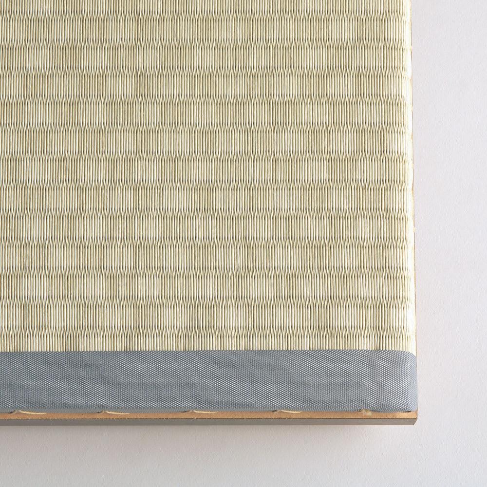 美草跳ね上げ式ユニット畳 畳単品 高さ45cm 大容量 1畳 大容量 [畳アップ] ライトグリーン
