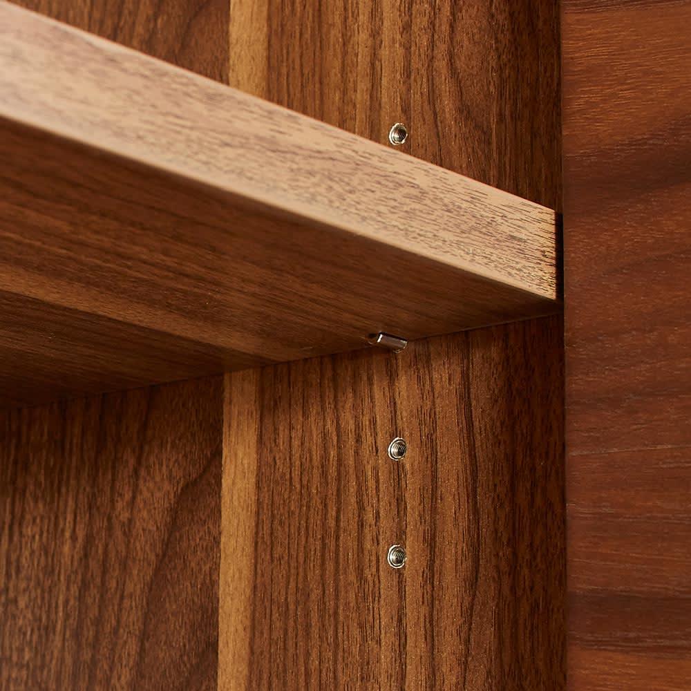 Glan Plus/グラン プラス デスクシリーズ キャビネット 幅80cm 棚板は3cmピッチの可動式なので収納物の大きさに合わせて棚を設置出来ます。