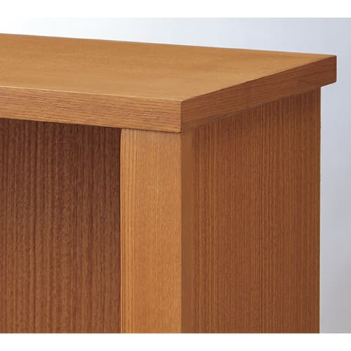 Chasse(シャッセ) ブックシェルフ 幅82奥行30高さ90.5cm ナチュラル:天然木フレームの高級感あるたたずまい。