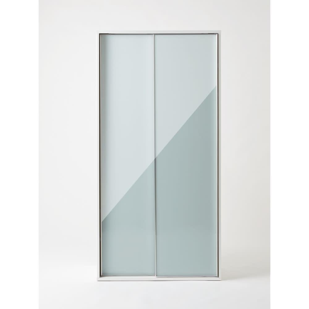 Evan(エヴァン) スライドシェルフ ハイタイプ本棚 幅90cm 光沢が美しいモダンデザイン