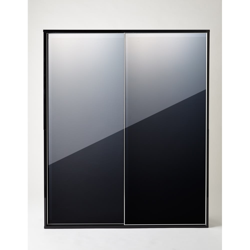 Evan(エヴァン) スライドシェルフ ハイタイプ本棚 幅150cm 光沢が美しいモダンデザイン