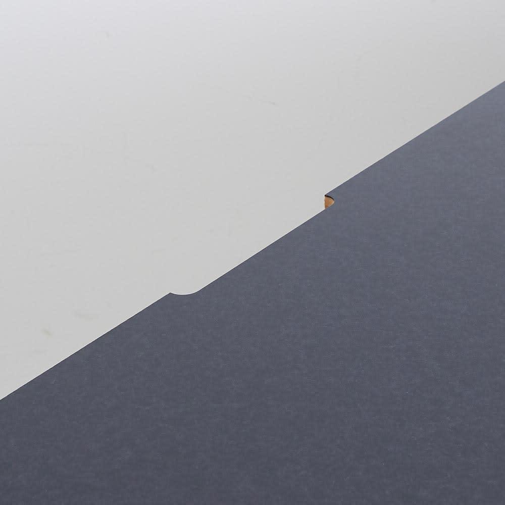 Granite/グラニト デスクシリーズ  デスク幅119cm 天板奥には配線用のカキコミがあり、コードもすっきり。