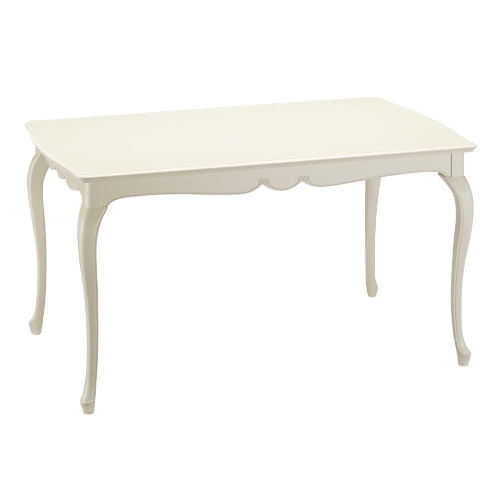 エレガントクラシックシリーズ ダイニングテーブル 幅140cm ホワイトウォッシュ