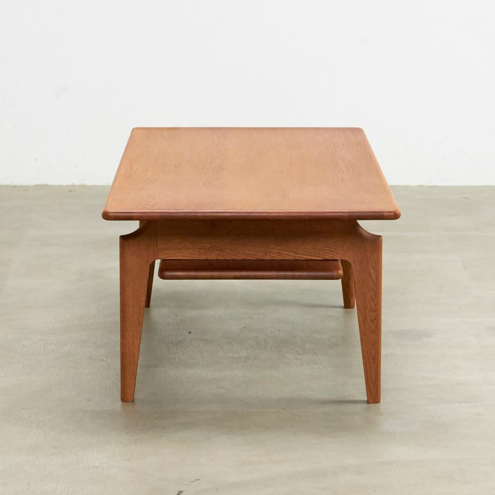 a tempo/アテンポ オーク天然木 リビングテーブル・センターテーブル 幅120cm