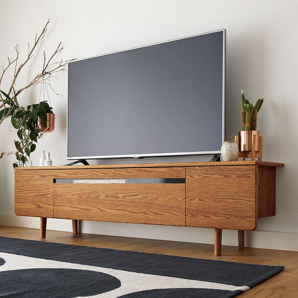 a tempo/アテンポ オーク天然木 テレビボード・テレビ台 幅130cm