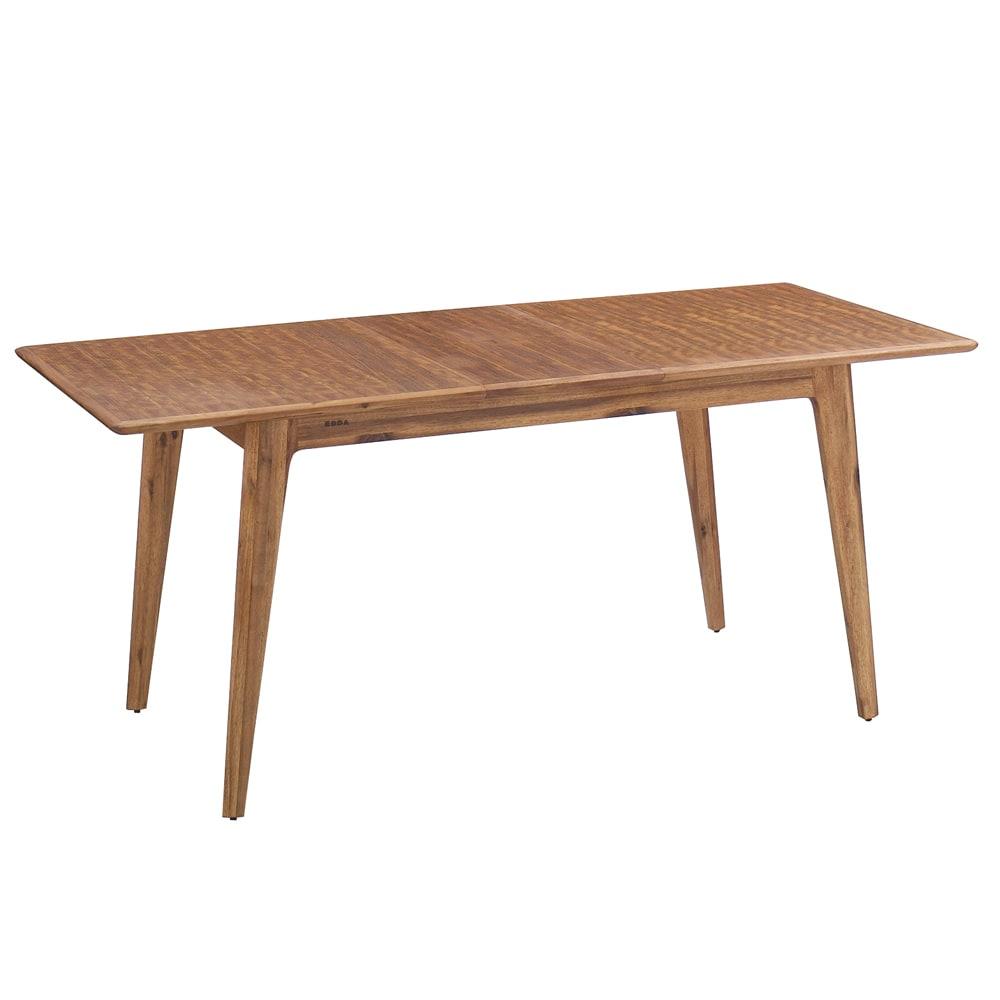 EDDA/エッダ 北欧スタイル伸長式ダイニングセット テーブル&チェア 5点セット テーブル:伸長時(最大170cm)