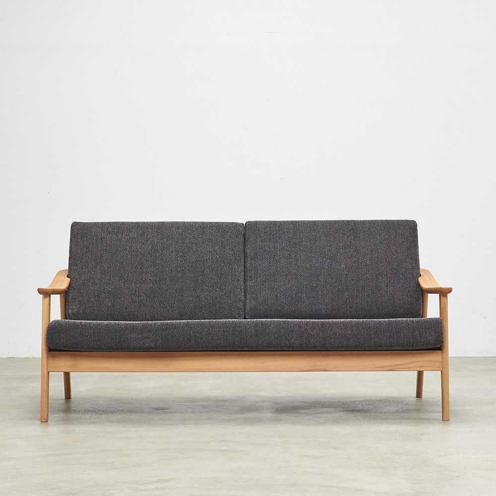 家具 収納 ソファー 3人掛けソファー 3Pソファー ビーチフレームカバーリングソファ 幅162cm H89912