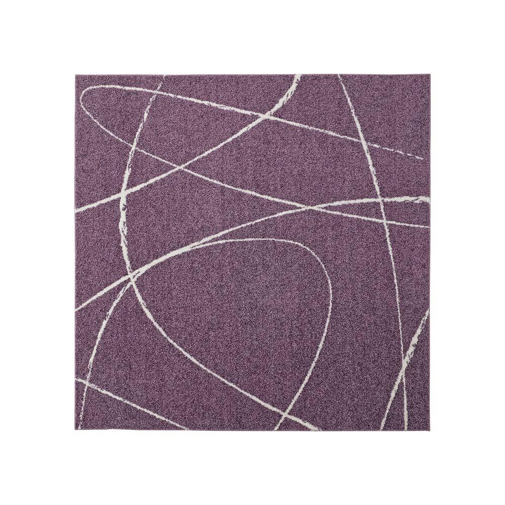 Gine/ジエーネ コンフォータブルラグ (ウ)ラベンダー (約190×190)