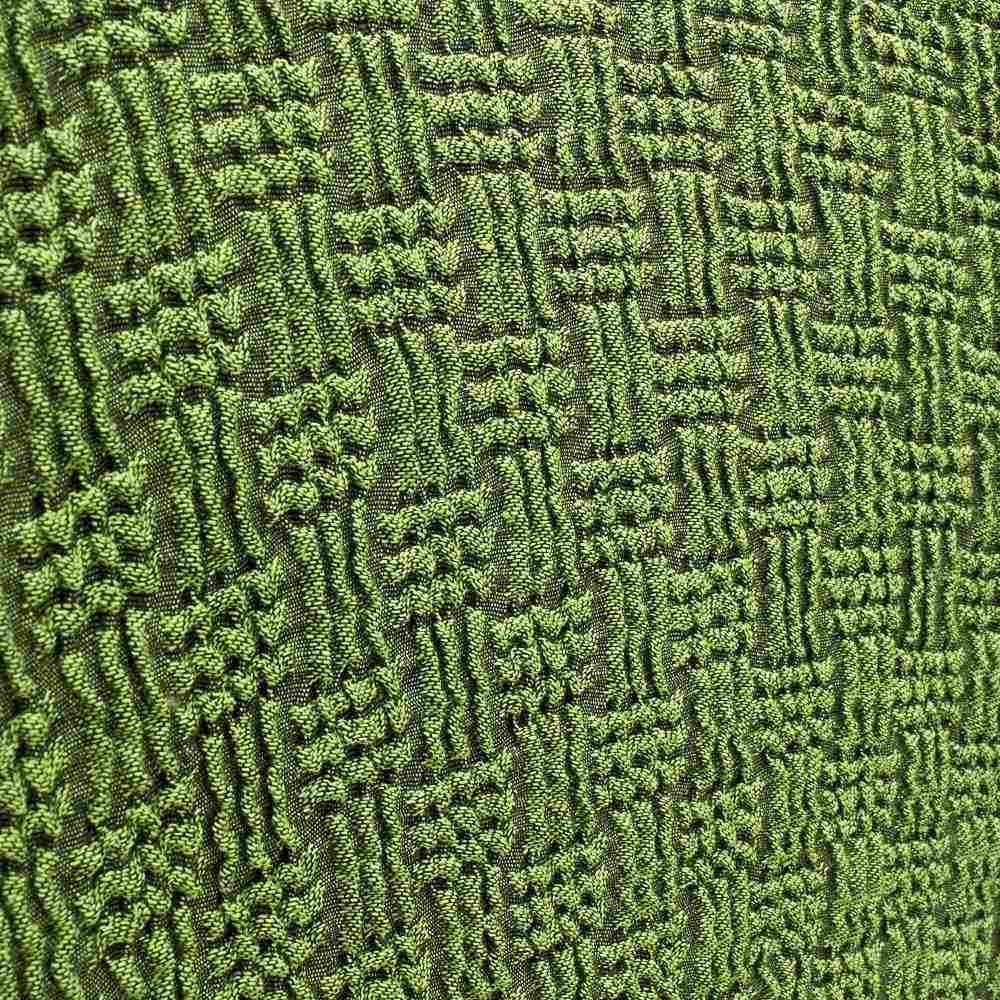 スペイン製 チェアカバー [Tina ティナ] 背付カバー 【生地アップ】グリーン
