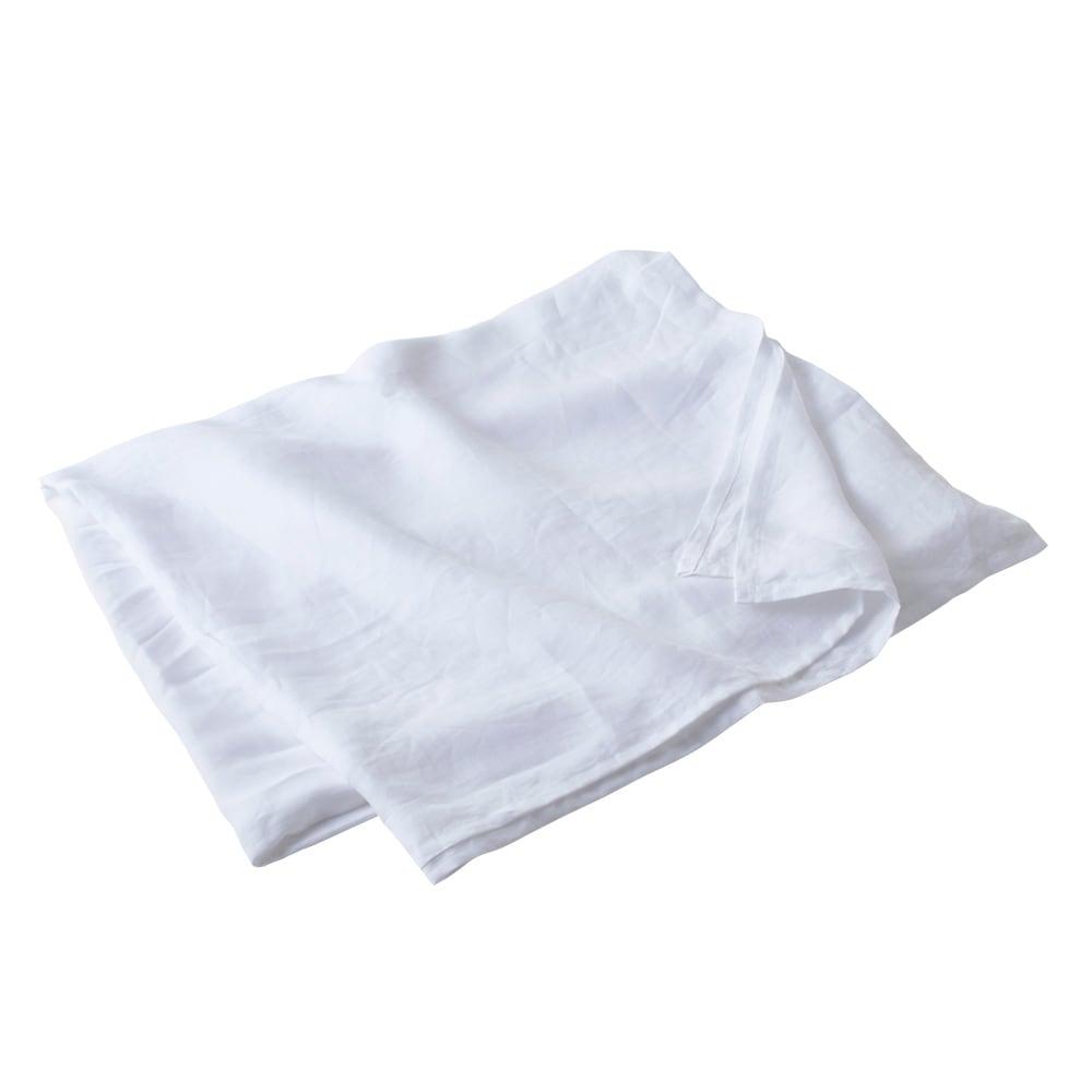 French Linen/フレンチリネン カバーリング マルチカバー ホワイト