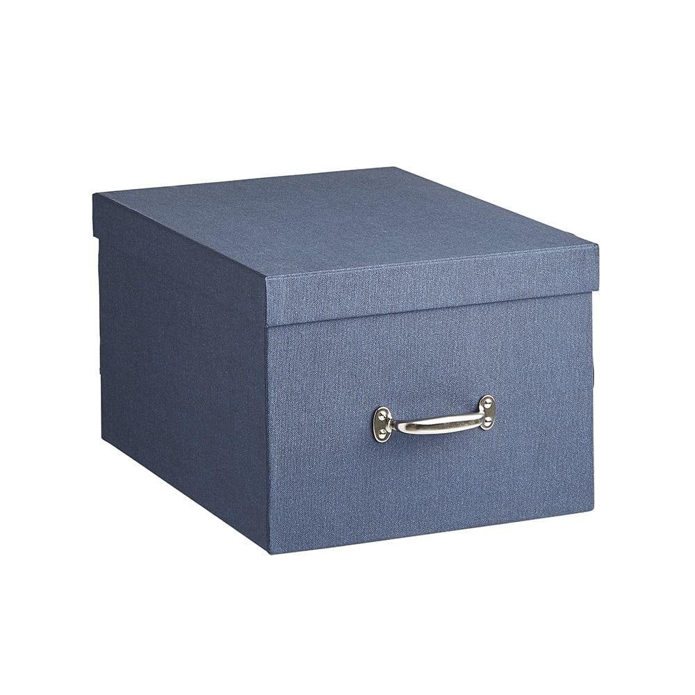BIGSOBOX スウェーデン生まれの衣類収納ボックス TORE(2個組) (ウ)ネイビー・大