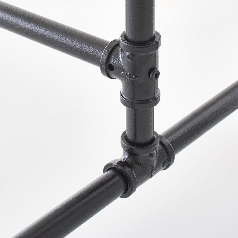 Havoc/ハボック ストロングハンガー シングル 幅61cm 水道管をイメージした見た目そのままの頑丈設計