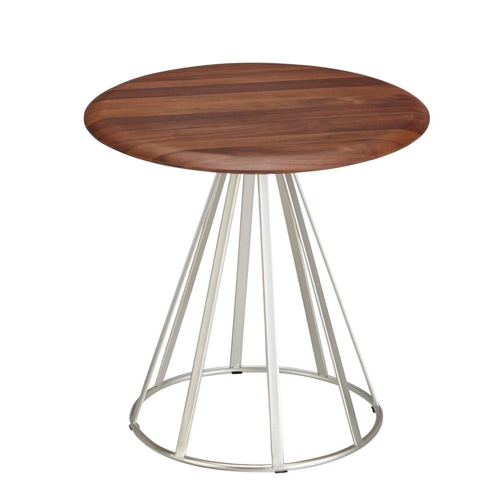 ナチュラル(ラディア サイドテーブル 径44cm 高さ41cm) ナチュラル 44 サイドテーブル・ナイトテーブル