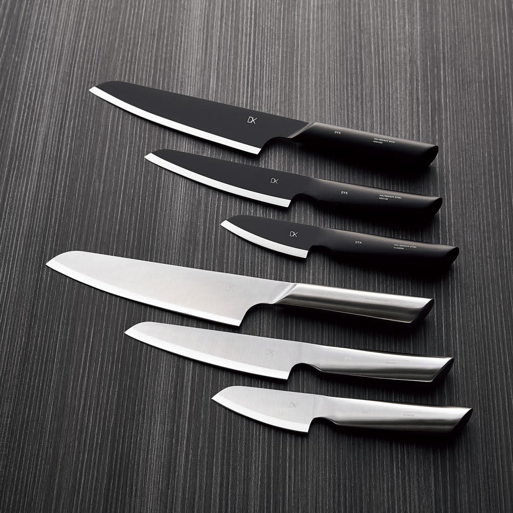 キッチン 家電 鍋 調理器具 包丁 ナイフ スライサー類 DYK/ダイク 包丁 小型三徳包丁 ブラック H86412