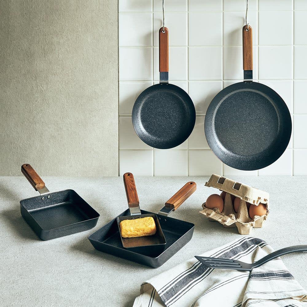 キッチン 家電 鍋 調理器具 フライパン 角型(ambai/アンバイ 玉子焼) H86423