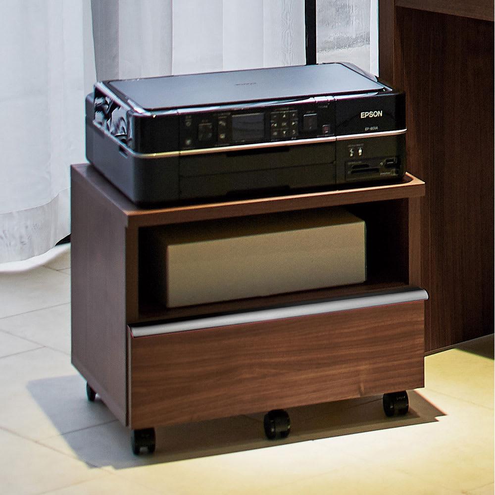 家具 収納 ホームオフィス家具 サイドチェスト プリンター台 Antisala/アンティサラ デスクシリーズ プリンターワゴン H89005