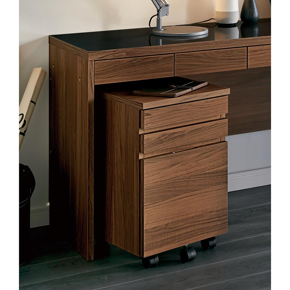 家具 収納 ホームオフィス家具 サイドチェスト プリンター台 Granite/グラニト デスクシリーズ サイドチェスト H89322