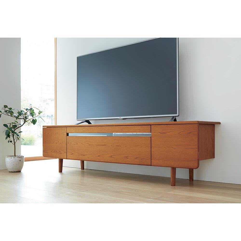 a tempo/アテンポ オーク天然木 テレビボード・テレビ台 幅180cm テレビ台・テレビボード
