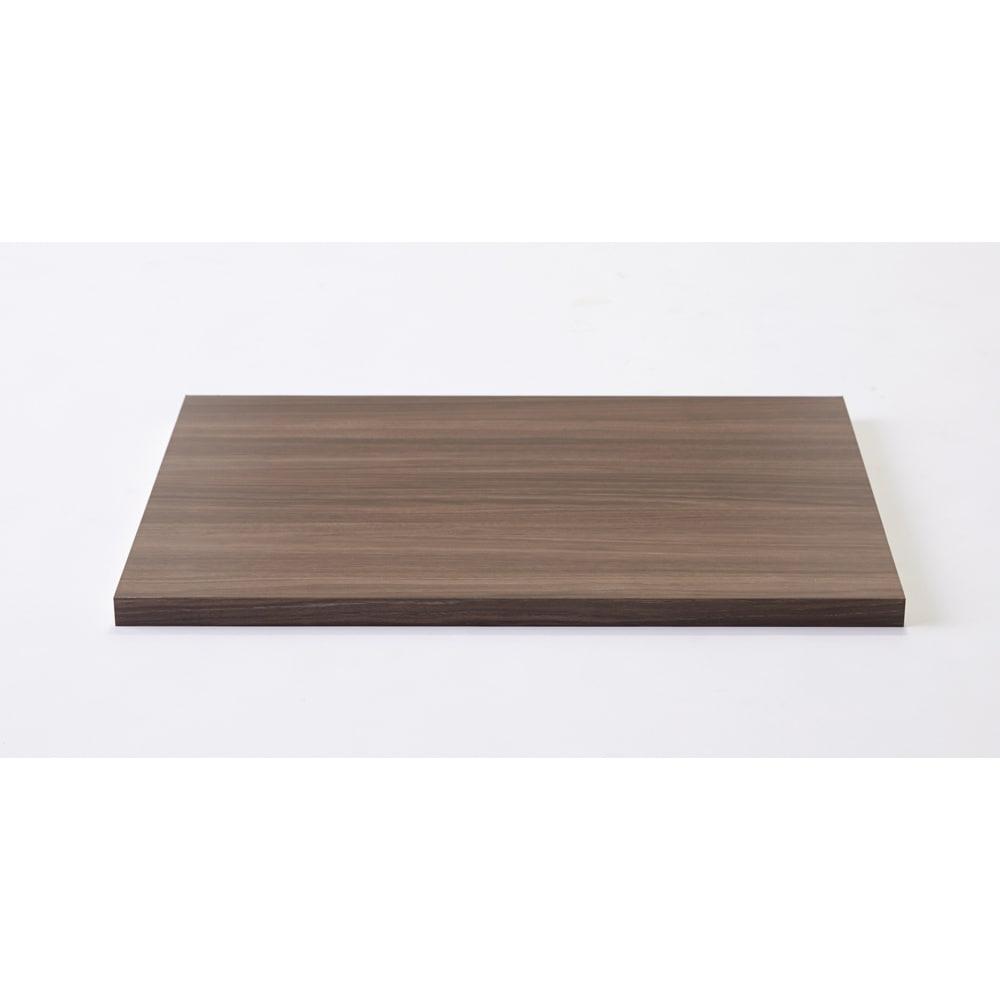 本体幅100.5右用 棚板幅38.5cm(Milath/ミラススライドワードローブ専用オプション棚板) ホワイト 【通販】