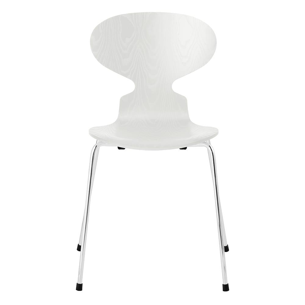Ant Chair/アリンコチェア カラードアッシュ[Fritz Hansen・フリッツ・ハンセン/デザイン:アルネ・ヤコブセン] (ア)ホワイト