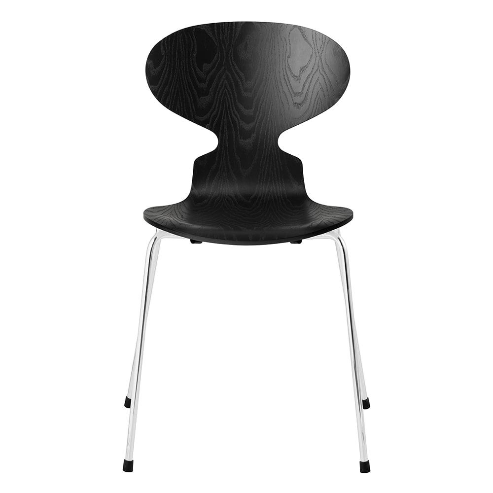 Ant Chair/アリンコチェア カラードアッシュ[Fritz Hansen・フリッツ・ハンセン/デザイン:アルネ・ヤコブセン] (イ)ブラック