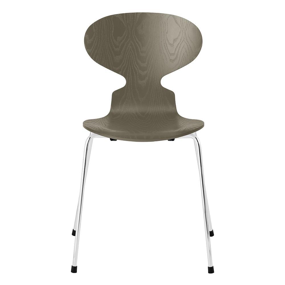 Ant Chair/アリンコチェア カラードアッシュ[Fritz Hansen・フリッツ・ハンセン/デザイン:アルネ・ヤコブセン] (ウ)オリーブグリーン