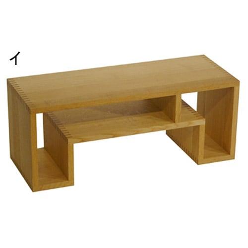 SHOJI/ショージ オケージョナルテーブル 幅72cm高さ29cm リビングテーブル/サイドテーブル[abode・アボード/デザイン:ウー・バホリヨディン] ナチュラル