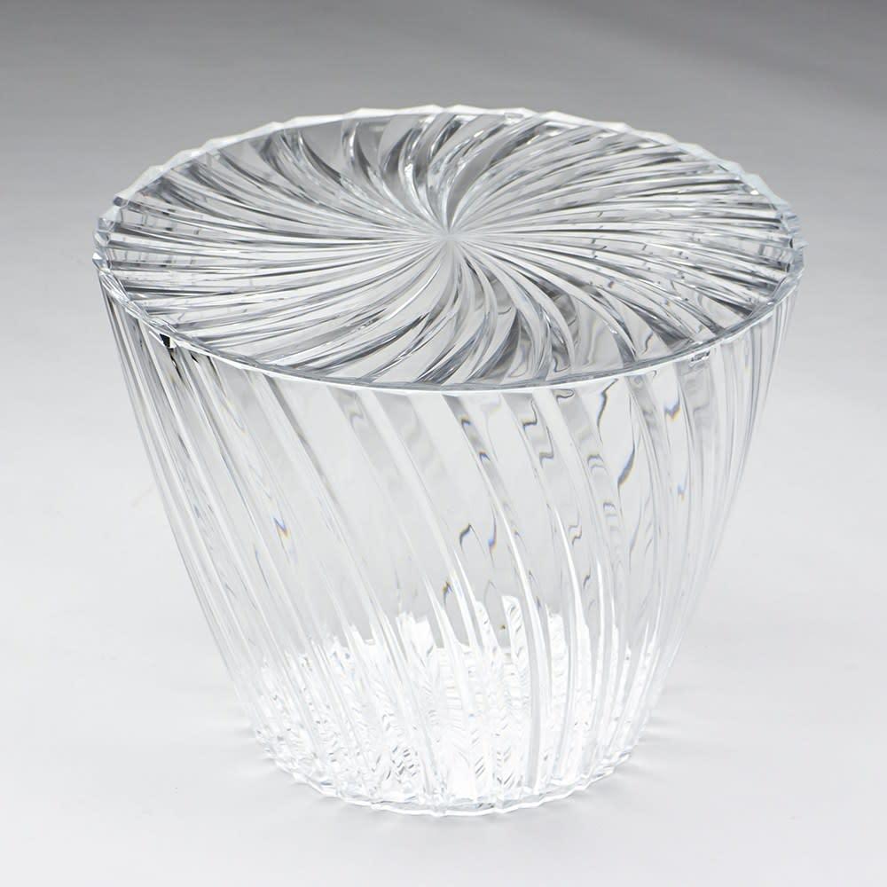 Sparkle/スパークル サイドテーブル [Kartell/カルテル デザイン:吉岡徳仁] クリア(クリスタル)