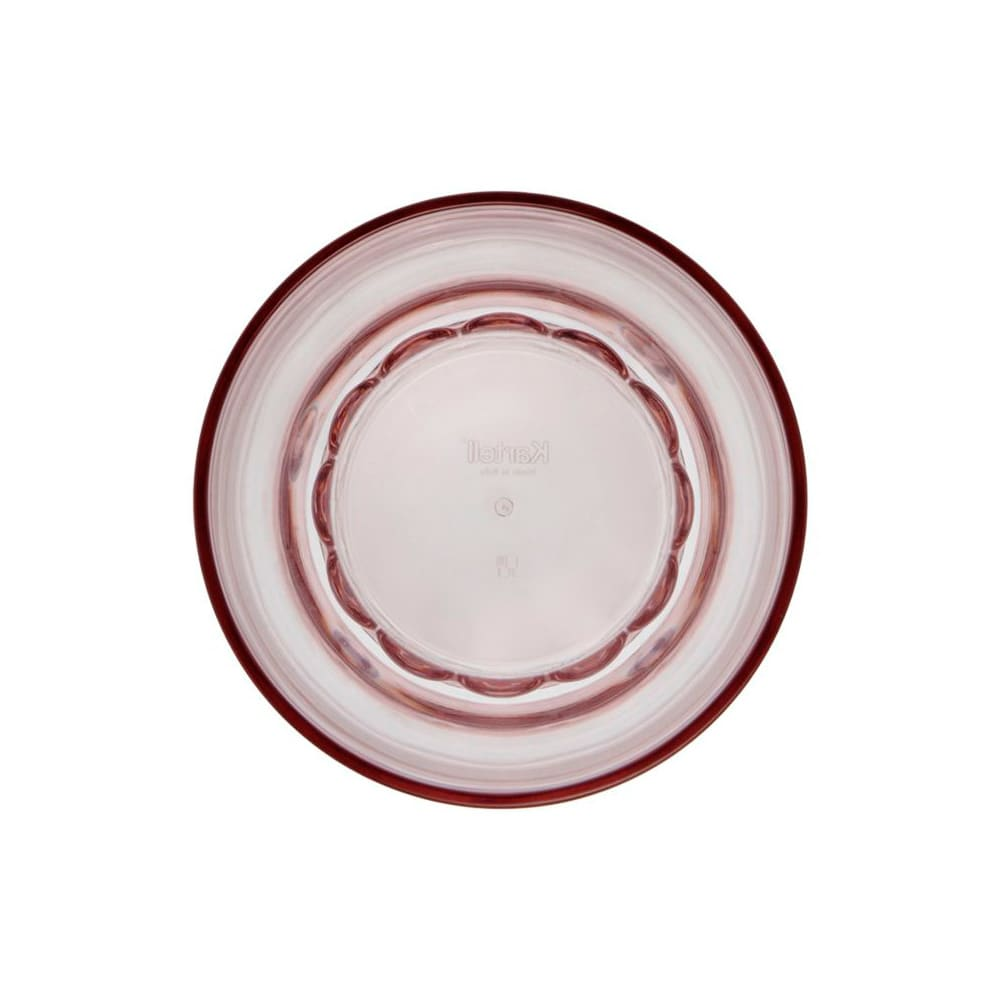 Kartell Jellies Family/ジェリーズファミリー ウォーターグラス 4個セット ピンク