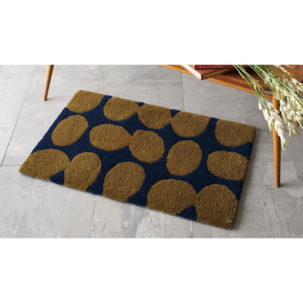 カーテン 敷物 ソファカバー カーペット ラグ マット キッチンマット 約50×120cm(Finlayson POP フック織 キッチンマット) H00619