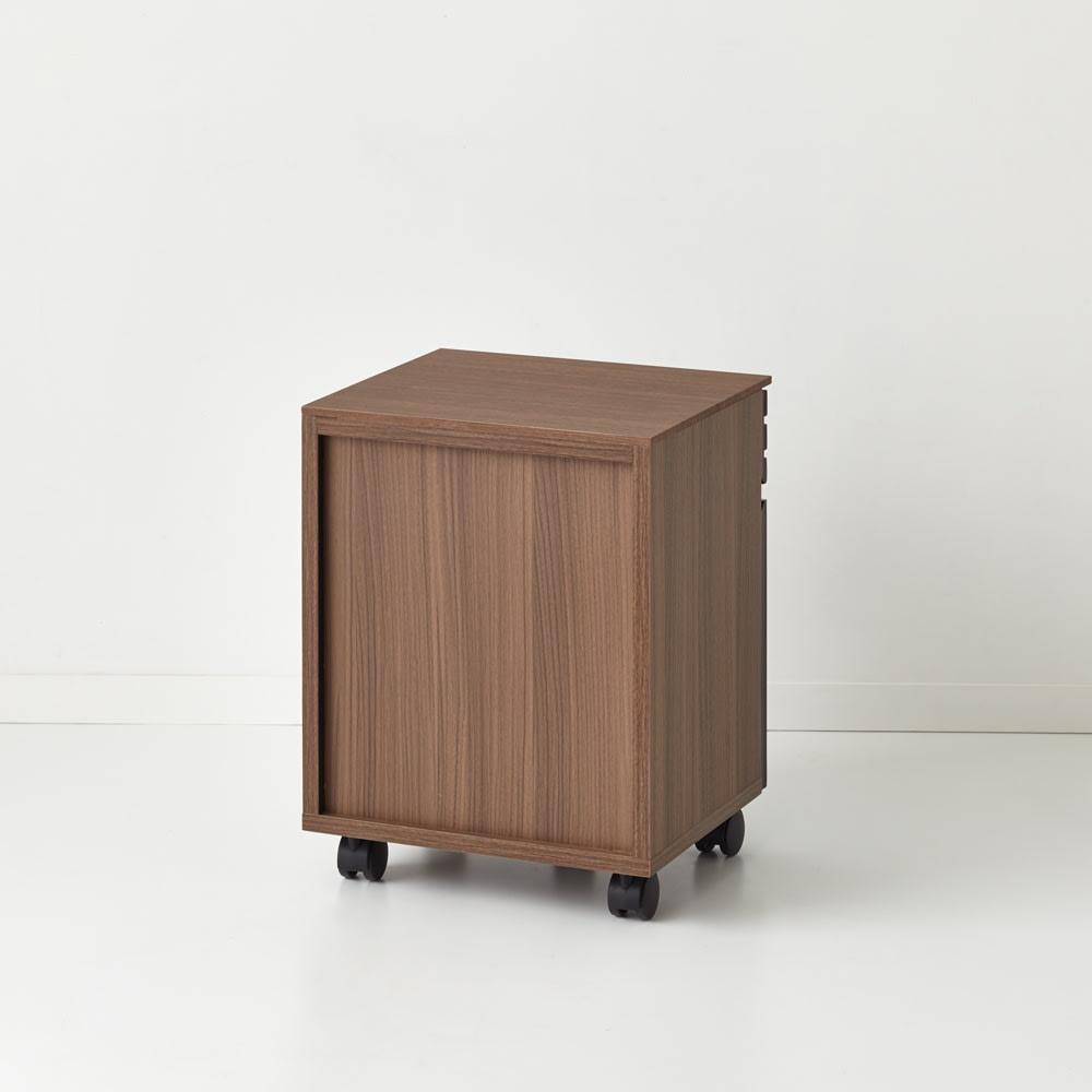 Alus Style/アルススタイル コンパクトホームオフィス サイドワゴン 幅42.5cm 裏面