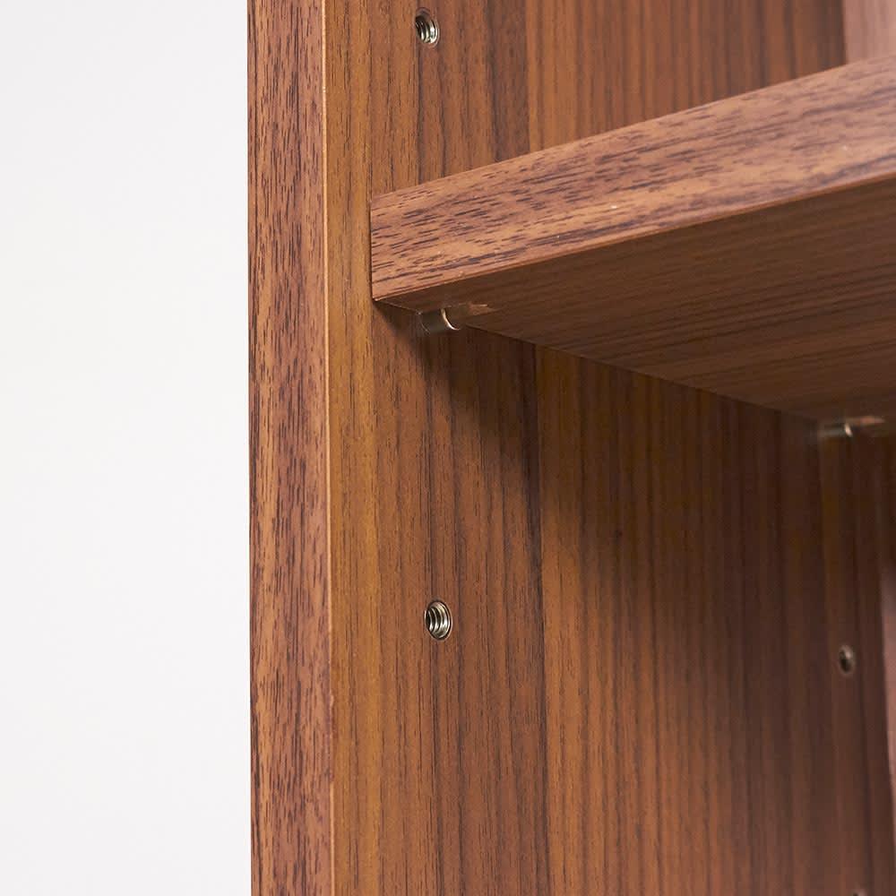 AlusStyle/アルススタイル シェルフシリーズ 上台:オープン&下台:扉 幅60cm高さ192cm
