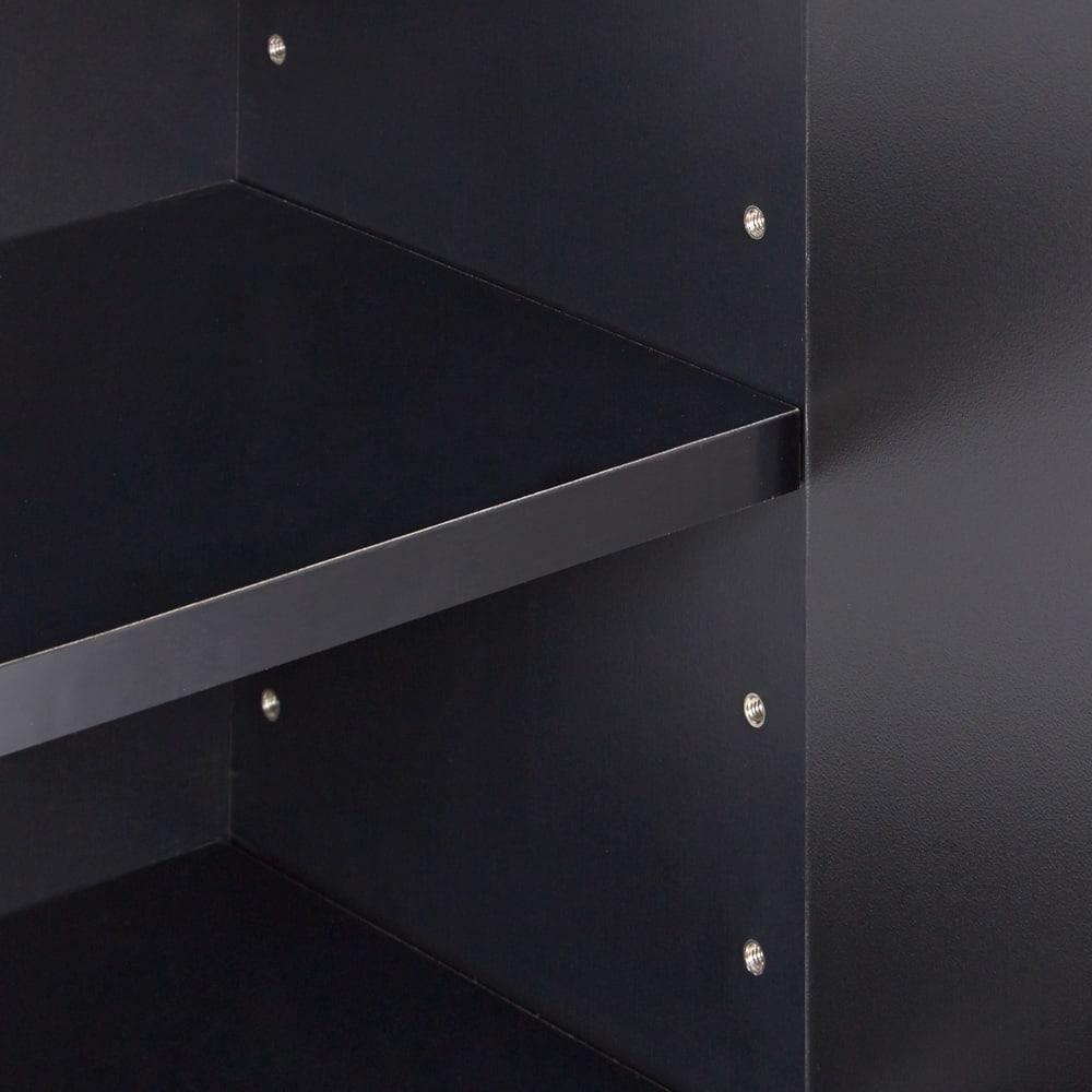 AlusStyle/アルススタイル カウンター下収納庫 2枚扉 幅80cm高さ84.5cm 棚板は可動式で収納物に合わせて細かく調整が可能です。