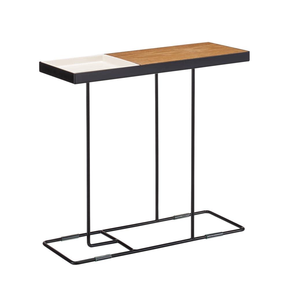 家具 収納 テーブル 机 サイドテーブル ナイトテーブル コンパニオン サイドテーブル H01604