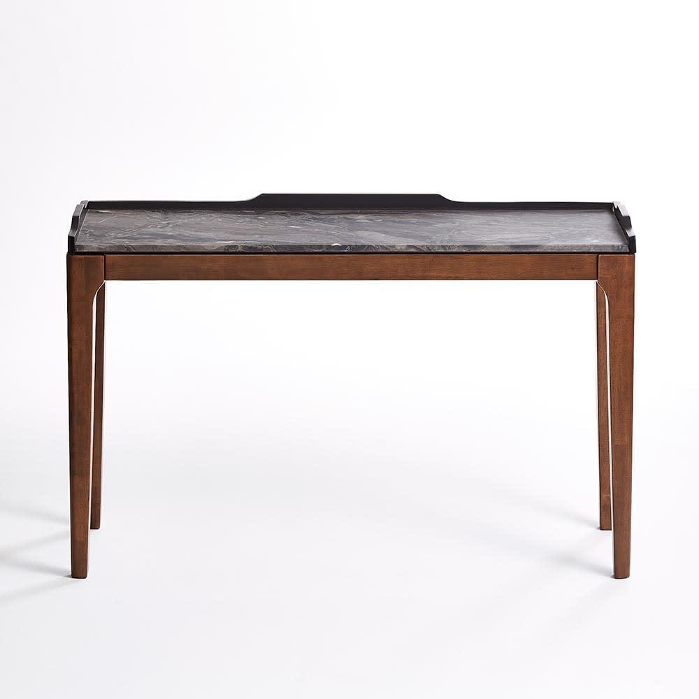 Elusso/エルーソ 石目調天板コンソール・ミニテーブルシリーズ コンソールテーブル