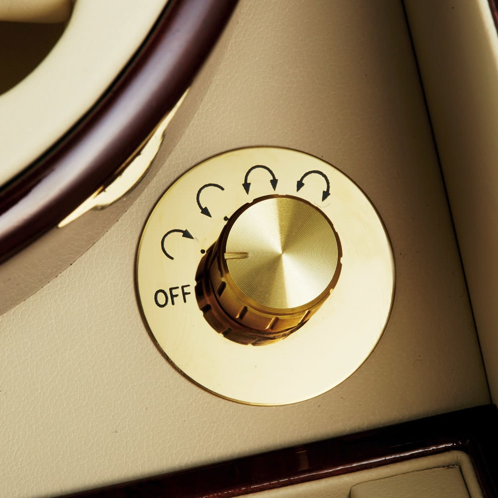 ワインディングマシン 2本用 4パターンの回転モード搭載。モーターはマブチモーターを使用しています。
