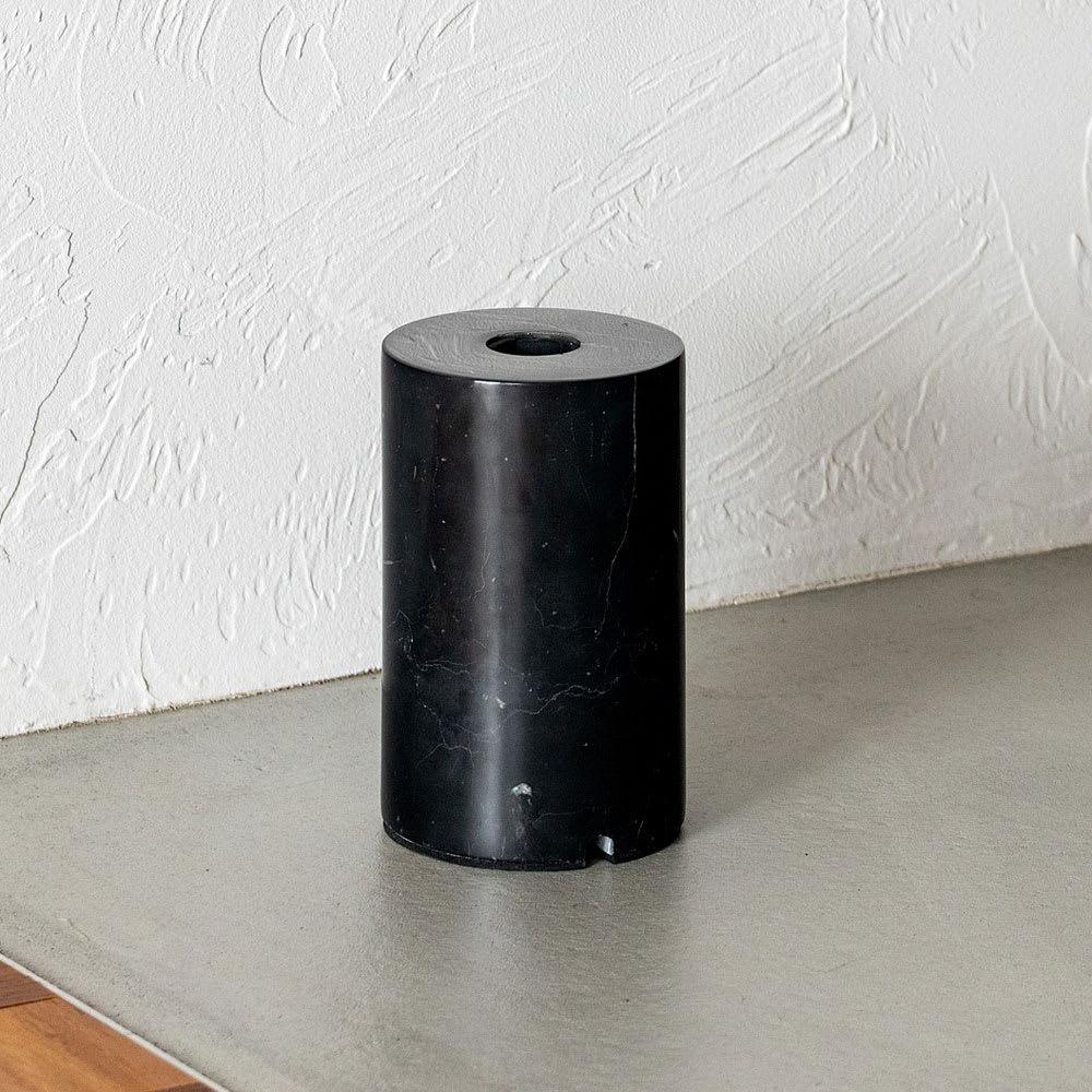 ネオマンクス バーライト用 大理石スタンド (スタンドライト用ベースのみ) ブラック