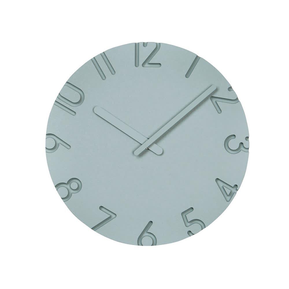 インテリア雑貨 日用品 時計 壁掛け時計 振り子時計 クロック CARVED L 径30.5cm H02002