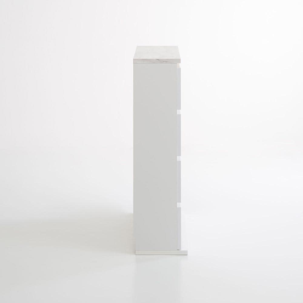 Marblenome/マーブルノーム 薄型サニタリーストッカー 幅45cm 引き出し 側面
