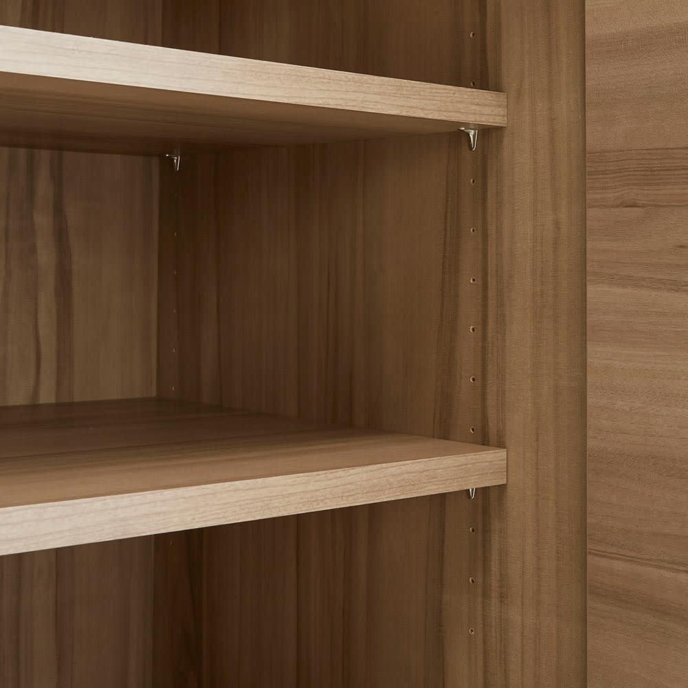 HS Clair/エイチエスクレール サニタリーストッカー 幅60cm 奥行45cm 棚板は3cm間隔で高さを変更できます。
