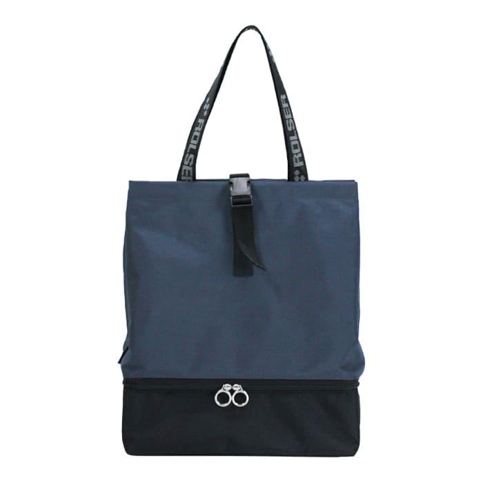 ROLSER/ロルサー  保冷・保温付きバショッピングバッグ (ア)ネイビー