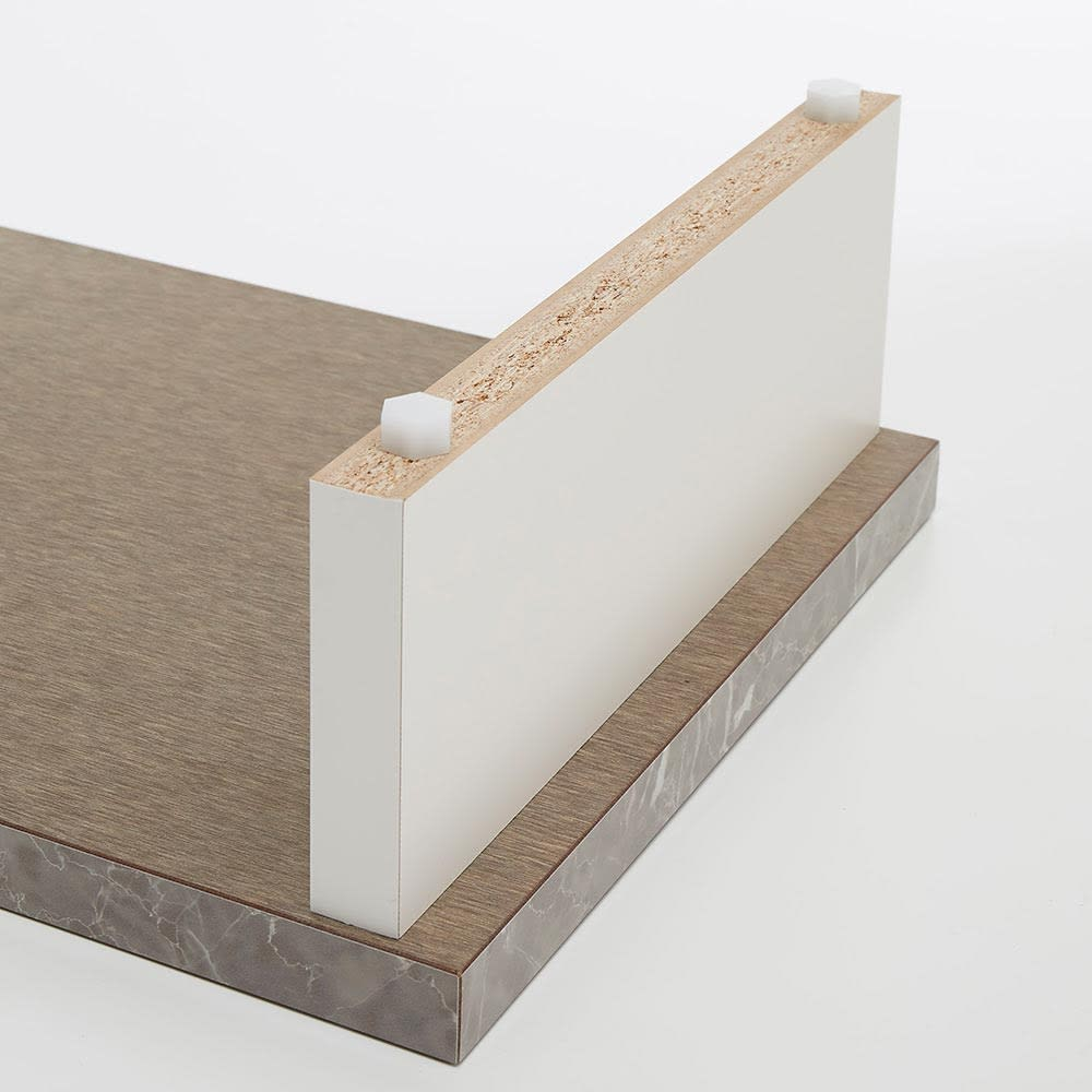 Marmo/マルモ 石目柄天板玄関踏み台 幅60cm・幅90cm・幅120cm 手前遠く両方にアジャスター付き。それぞれネジ式で高さ調節が可能です。
