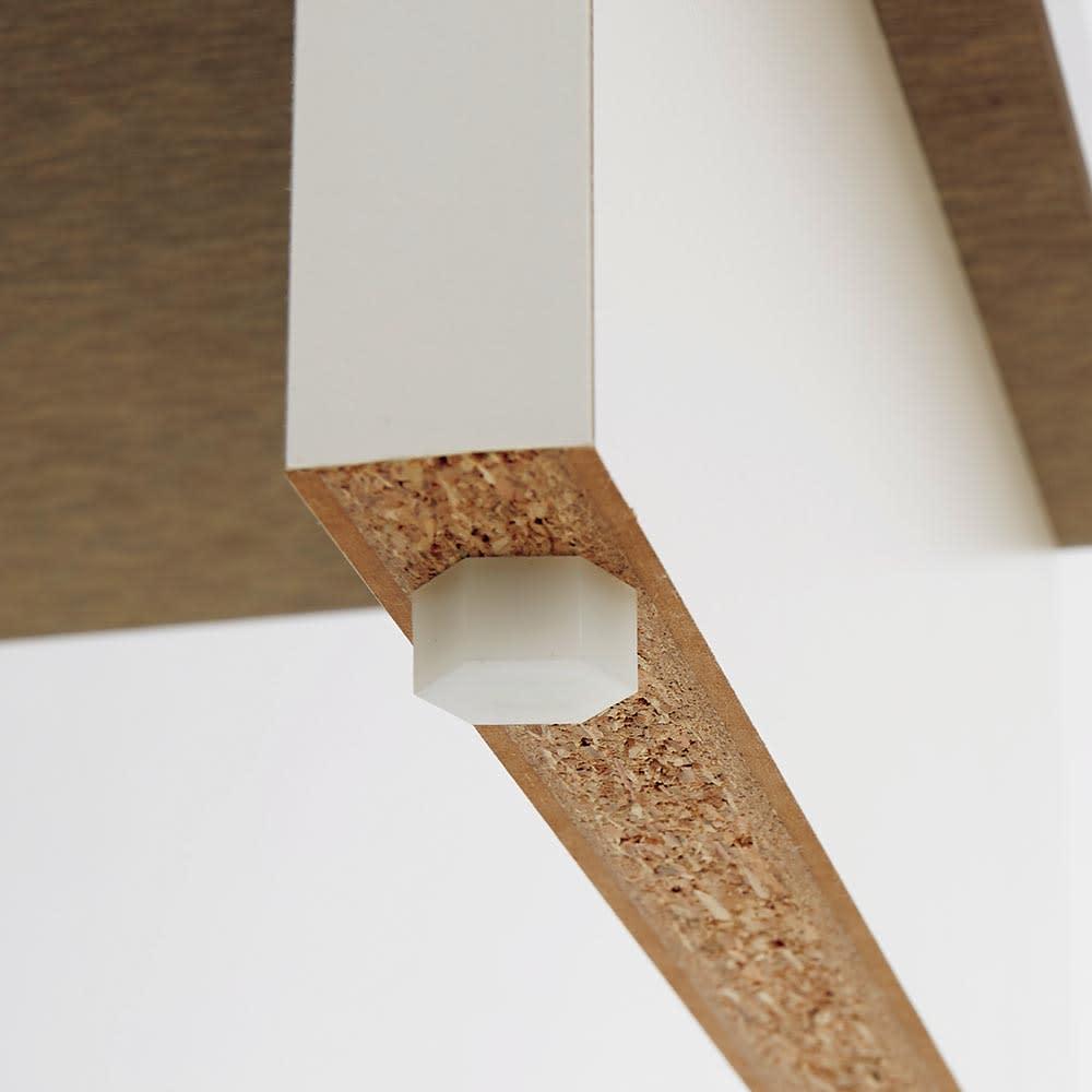 Marmo/マルモ 石目柄天板玄関踏み台 幅60cm・幅90cm・幅120cm アジャスター付きで床にあわせて安定しやすいよう調整が可能です。