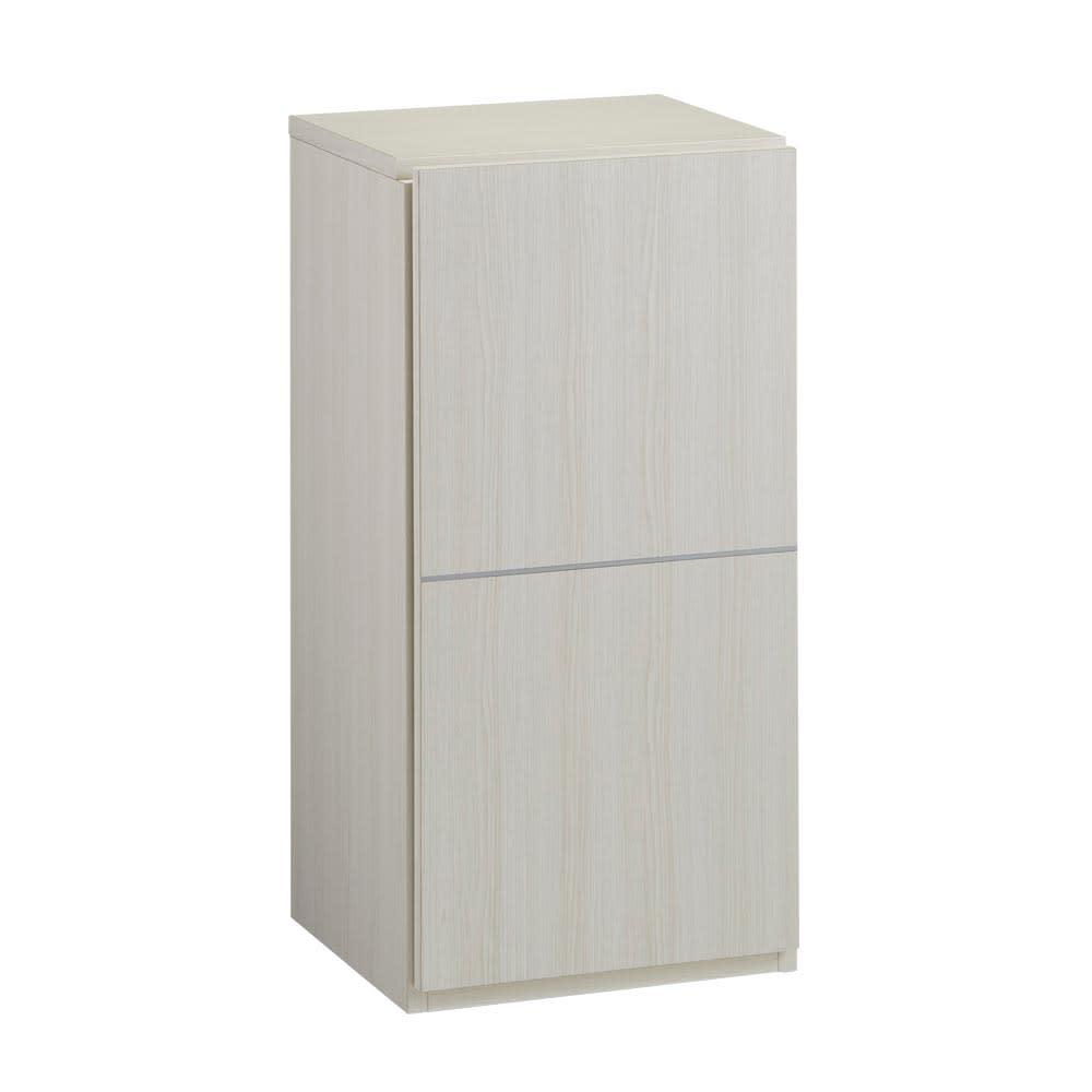 Donner/ドンナー スリムシューズボックス・靴箱 幅40cm奥行37cm高さ80cm ホワイト木目 お届けの商品はこちらです。