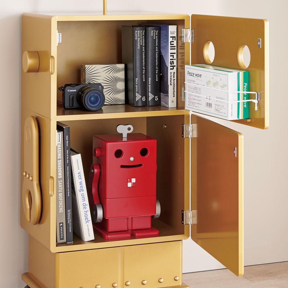 ROBIT/ロビット 収納ロボ 当店限定カラー[ete・えて] リビングでブックシェルフに。口からティッシュも。